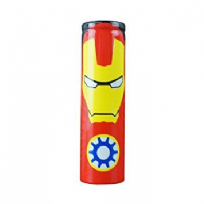 Wrap Iron Man pour accus 18650